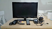 "18.5"" Q.Media 12v volt LED HD TV DVD USB Freeview CARAVAN MOTORHOME TRUCK BOAT"