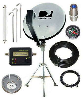 DIRECTV Portable Satellite Dish Tripod Kit for RV Tailgating Camping 18