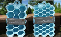 Outset Silicone Hexagon Ice Cube Tray Large Cubes Kitchen