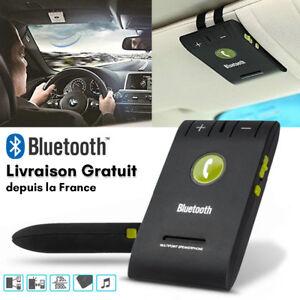 kit mains libres bluetooth voiture sans fil universel car pare soleil telephone ebay. Black Bedroom Furniture Sets. Home Design Ideas