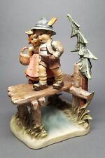 Goebel W. Germany Hummel Figurine ON OUR WAY TMK7 #472 - ARTIST SIGNED