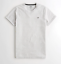 Hollister-homme-a-encolure-ras-du-cou-a-manches-courtes-Muscle-must-have-Courbe-Tee-Logo-T-Shirt miniature 19