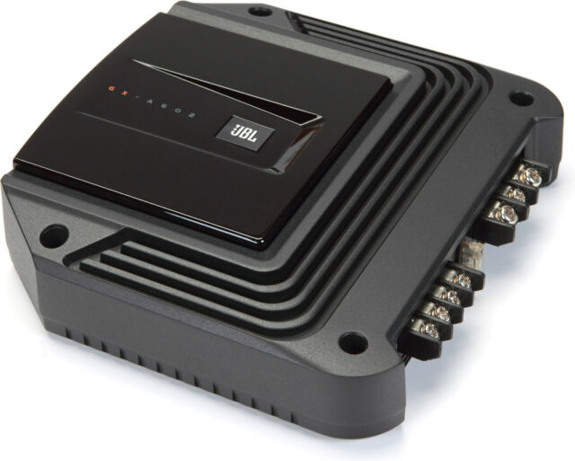 New JBL GX-A602 280 Watts GX Series 2-Channel Class AB Car Audio Amplifier