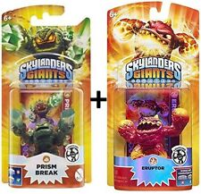 Skylanders Giants LightCore Personaggio Prism Break + Eruptor WII ps3 XBOX 360 3ds