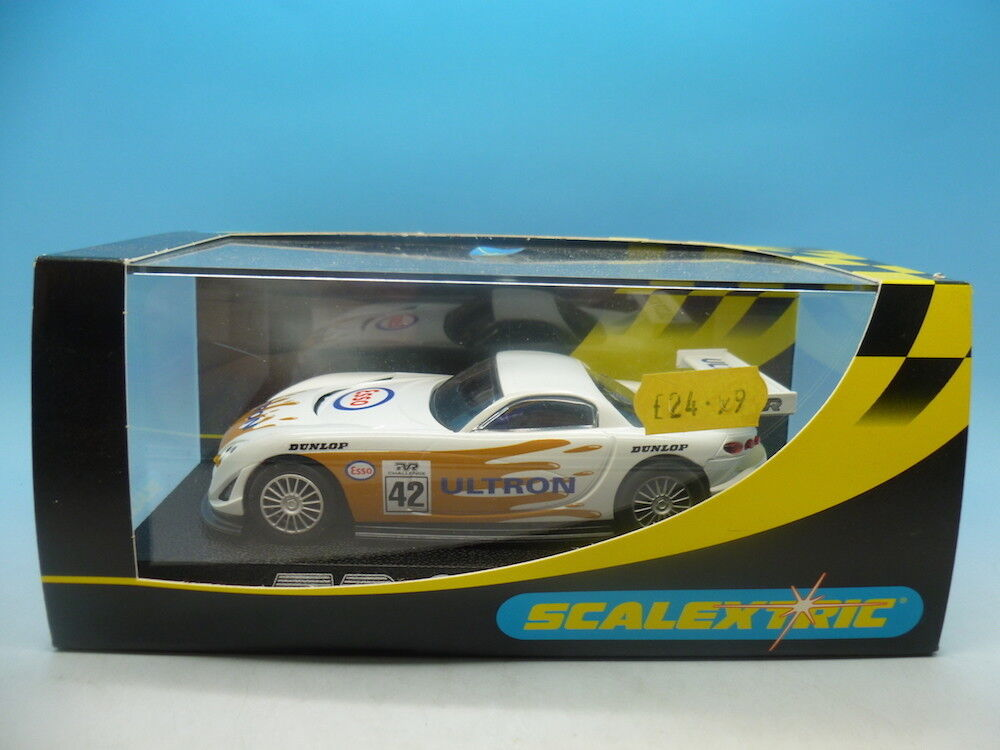 Scalextric C2189 TVR Speed 12 Esso Ultron No.42, mint unused