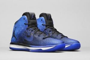 f9a2bb08e9e9 Nike Air Jordan XXXI Men s Size Basketball Shoes Black Game Royal ...