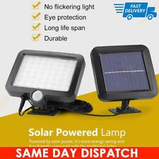 56 LED Garden Outdoor Solar Powerd Motion Sensor Light PIR Security Flood Light