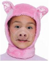 Forum Novelties Child Size Animal Costume Pink Piglet Hood And Nose