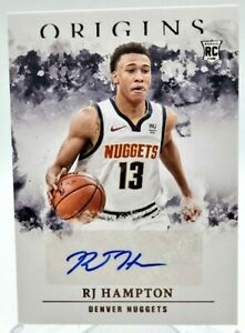 2020-21 Panini NBA Origins RJ Hampton Auto Rookie RC Orlando Magic BASKetball