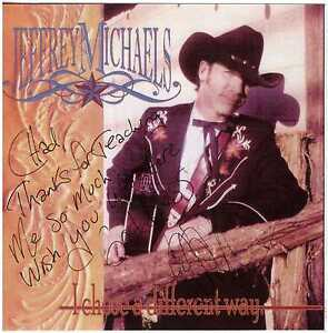 JEFFREY-MICHAELS-I-Chose-a-Different-Way-CD-Country-Signed