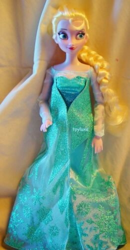 "Disney Store Authentic Frozen ELSA Classic Collection 12/"" Doll 1st Exclusive NEW"