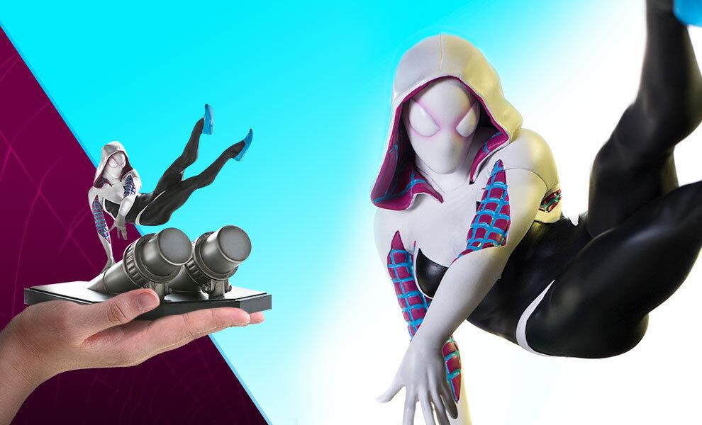 Iron Studios  - Marvel Comics 1 10 Spiderhomme Battle Diorama Series - Spider-Gwen  remise élevée
