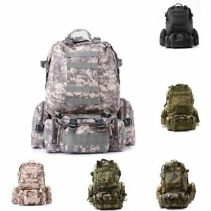 fd5286bcc9be 50L Molle 3 Day Assault Tactical Outdoor Military Rucksacks ...