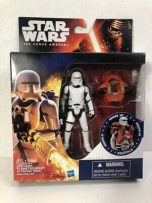 Disney Hasbro Star Wars The Force Awakens Armor up Collectible Flametrooper