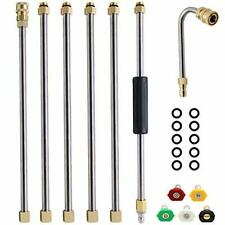 Twinkle Star Pressure Washer Extension Wand Set 8 Ft Replacement Lance With 5