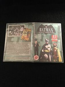 BATMAN CLIFFHANGER SERIAL 15 CHAPTERS 2 DVDS