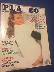 Playboy Magazine, May 1987, Vanna White Issue
