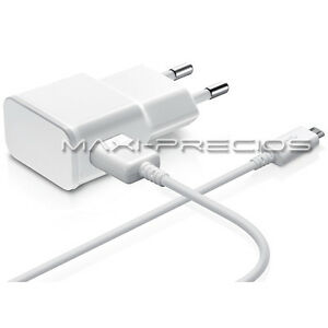 CARGADOR-2A-2000MAH-RED-CASA-PARED-CABLE-USB-SAMSUNG-GALAXY-NOTE-4-BLANCO