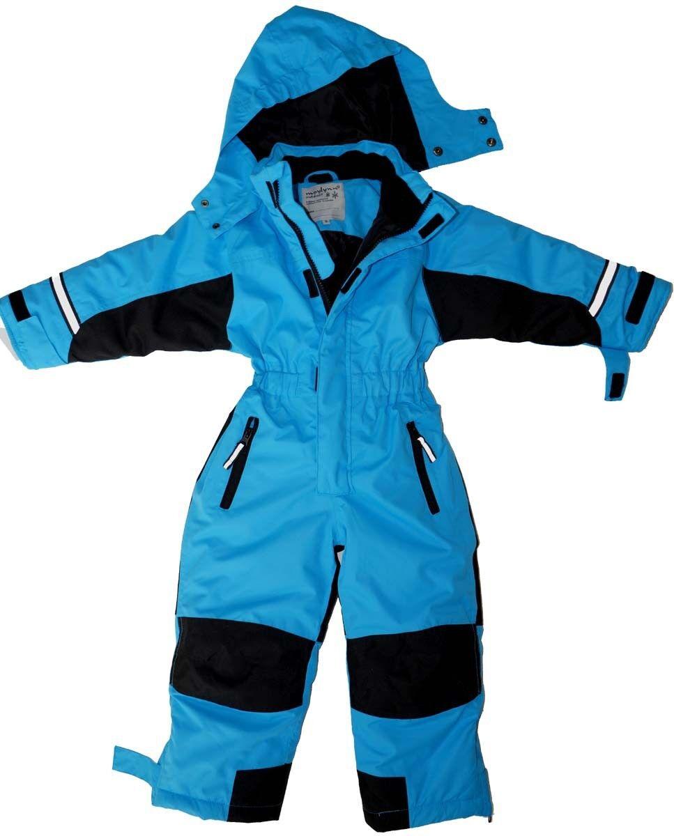 Softshell Skianzug Schneeanzug blau Gr. 92 98 104 110 116 128 134 140 146 152