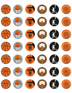 Basketball themed printable bottle cap images template of 42 ebay image is loading basketball themed printable bottle cap images template of maxwellsz