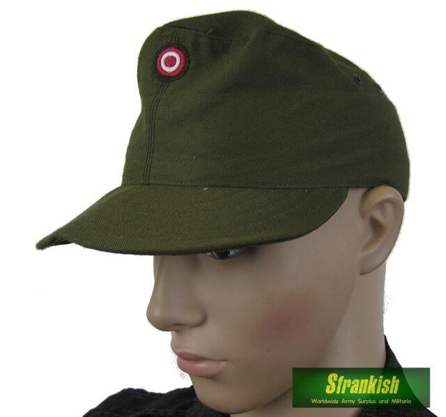 AUSTRIA AUSTRIAN ARMY FIELD HAT CAP & BADGE