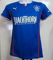 Glasgow Rangers 2013/14 Ladies Home Shirt By Puma Size 14 Brand With Tags