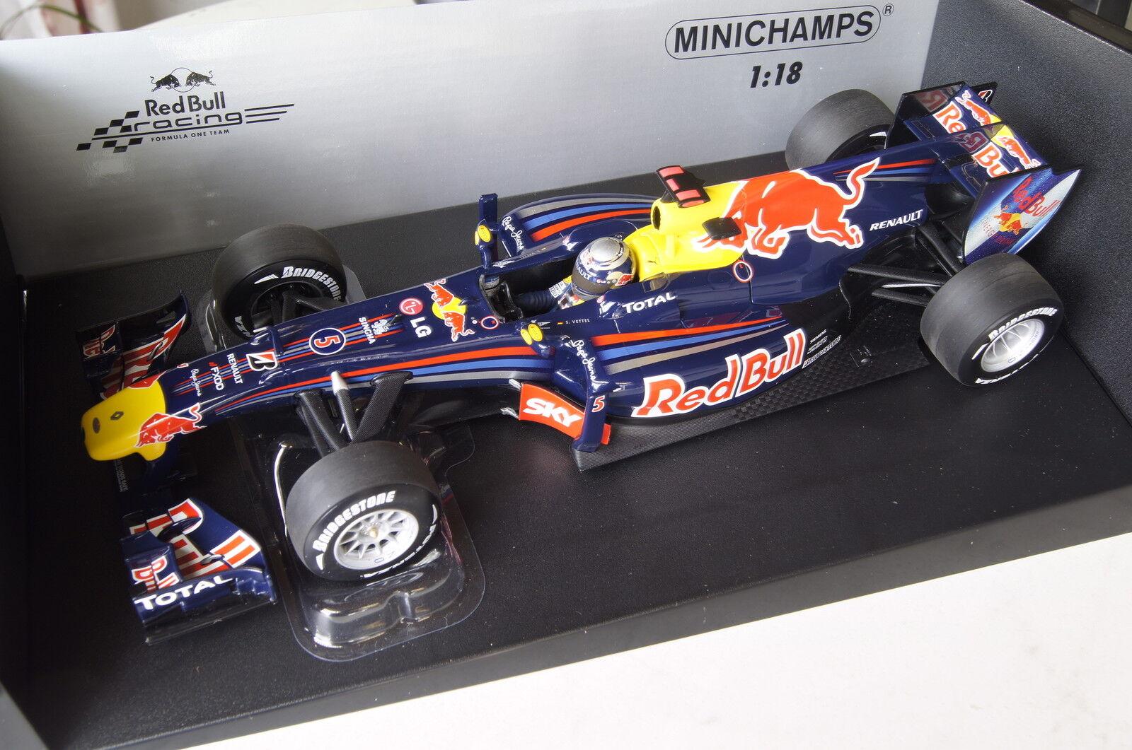 Formel 1 2010 Red Bull S.Vettel Brazilian GP Winner 1 18 Minichamps neu & OVP