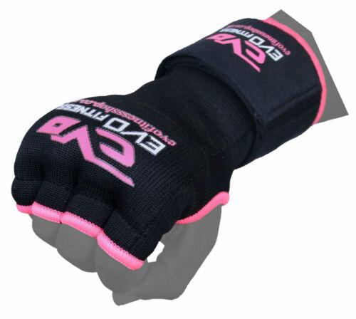 EVO Boxing Gel Gloves Hand wraps Punch Bag Inner Glove MMA Martial Arts UFC Gear