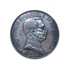 Moneta-collezione-5-Lire-Italia-1914-Re-Vittorio-Emanuele-III-Savoia-replica