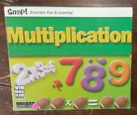 Snap Multiplication (win Mac Cd-rom, 2003) Free Shipping
