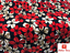 """Premium Quality Soft Printed Lycra Floral Print Jersey Dress Crafting Fabric 58/"""""""