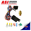 Electric-Cooling-Thermostat-Fan-Sensor-Temperature-Switch-Wiring-Relay-Kit thumbnail 1