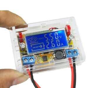 Regulable-Ajustable-Fuente-Alimentacion-Buck-Modulo-LCD-Regulador-DC-Voltaje