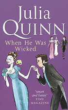 When He Was Wicked by Julia Quinn (Paperback, 2006)
