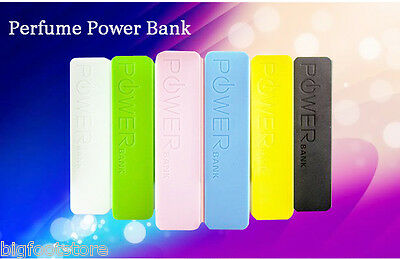 2600mAh Mobile Portable Power Bank Backup Battery USB Charger for iPhone &Galaxy
