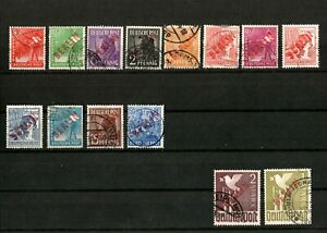 Germany BERLIN-RED-1948-COMPLETE signed Schlegel BPP used