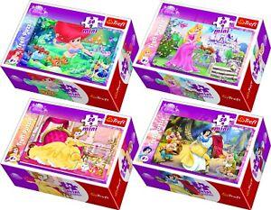 Trefl-Disney-54-Piece-4-Mini-Boxes-The-Princesses-Girls-Fantasy-Jigsaw-Puzzle