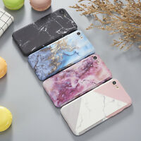 Hybrid 360°Shockproof Art Glossy Marble Case Cover For Apple iPhone 5S 6S 7 Plus