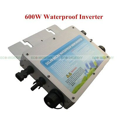 300W 600W 1200W Wasserdicht Inverter W/MPPT Function for Home Solar Panel System