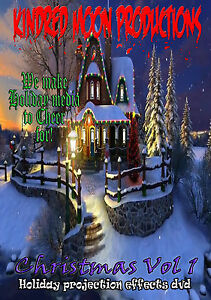 Christmas Decoration Projection or TV Effects Holiday DVD ...