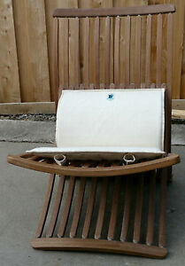 Image Is Loading THOMAS LAMB STEAMER CHAIR 1978 WITH RARE CUSHION