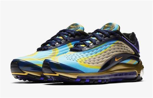 NEW NEW NEW 100% Authentic Nike AQ1272-400 Womens Exclusive Nike Air Max Deluxe 9.5 e017ca