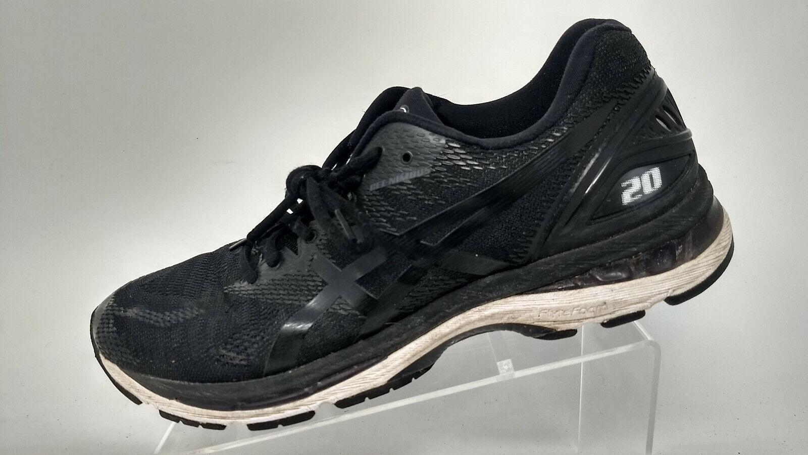 ASICS GEL-Nimbus 20 T800N Men's Running shoes Black Size 12