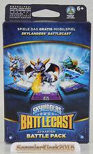 Skylanders Battlecast Battle Pack 1 - 22 Karten mit 3 Charakteren Deutsch Neu
