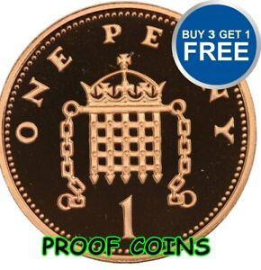 Prova-inglese-decimale-UNA-PENCE-PENNY-1PS-monete-scelta-della-data-1971-2015