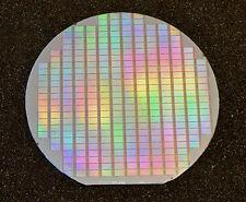 Vintage 1989 6 inch silicon wafer - Dallas Semiconductor DS2257