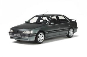 1-18-Otto-Models-Peugeot-405-Mi16-Gris-Magnum-1992-OT557-cochesaescala