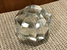3 1//2 inch by 2 1//4 inch Tree Shape Faceted Cut Crystal Glass Chandelier Prism