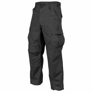 Helikon-Tex-BDU-Hose-Pants-Ripstop-Security-Uniform-Schwarz-Black-SP-BDU-PR-01
