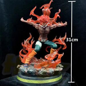 Anime-Naruto-Guy-Estatua-Figura-de-PVC-con-Might-Luz-LED-12-034